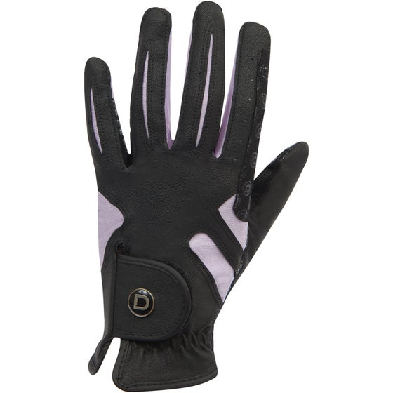 1cba94142 Dublin Cool It Gel Riding Gloves - Black Pink