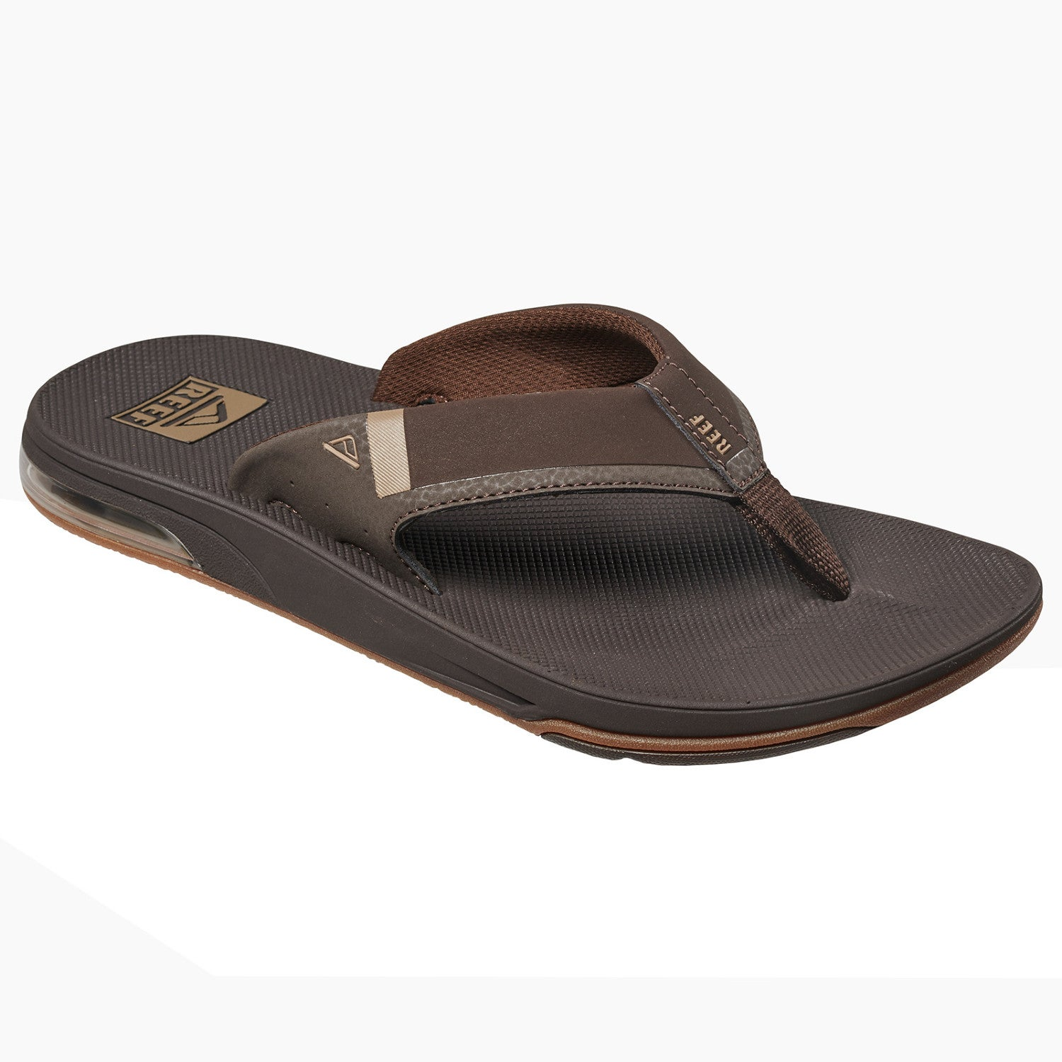 6944d4d54d8f Reef Fanning Low Mens Footwear Sandals - Brown All Sizes