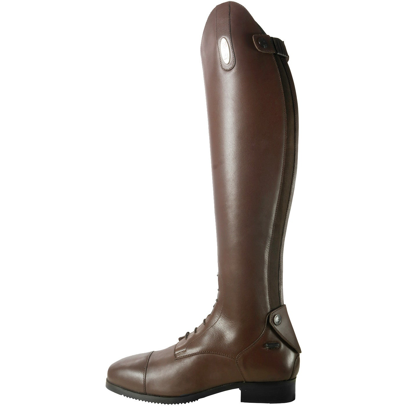 Brogini CAPITOLI V2 Long Tall Leather Grip Strech Riding Boots Black//Brown 3-11