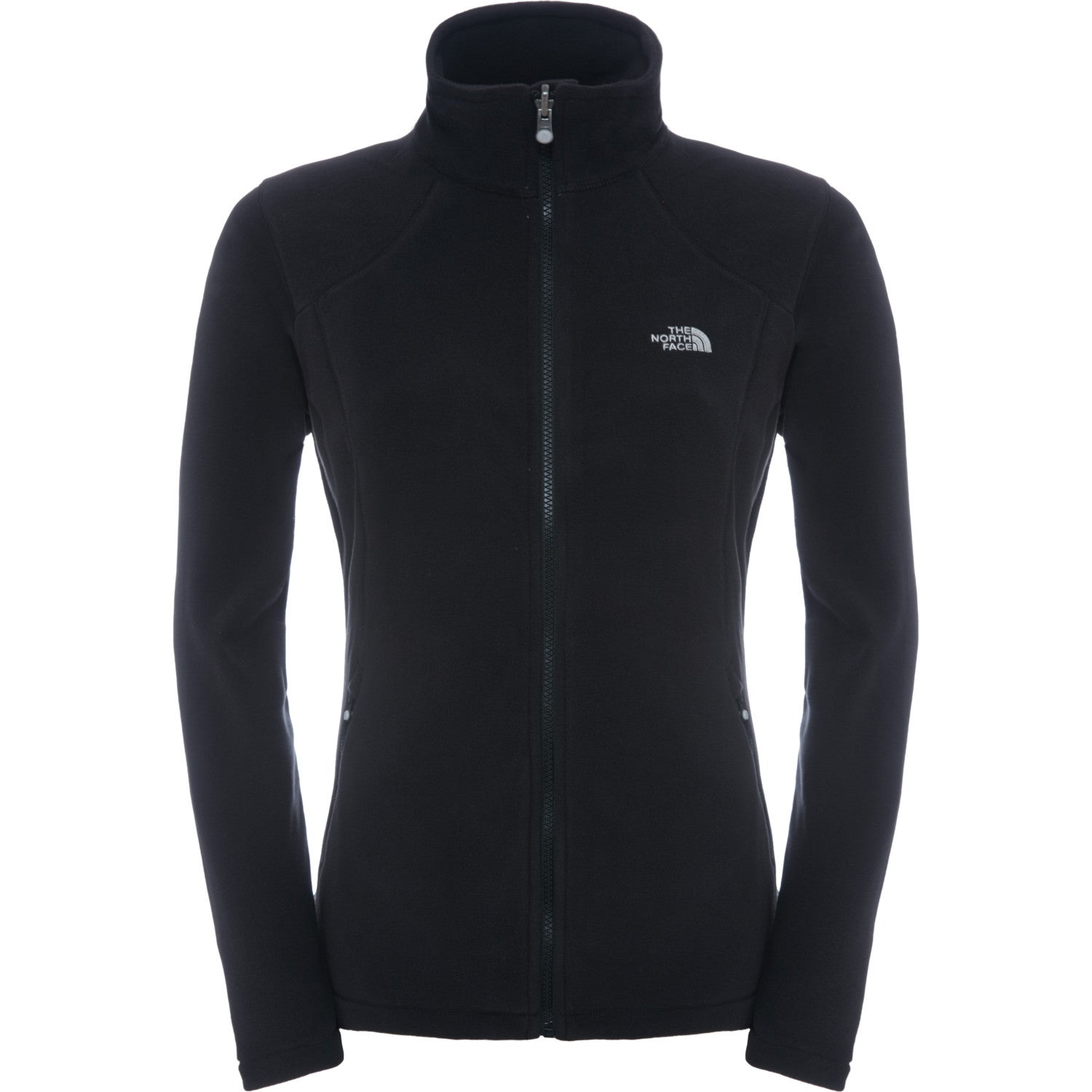11d9a60191 The North Face 100 Glacier Full Zip Womens Jacket Fleece - Tnf Black ...