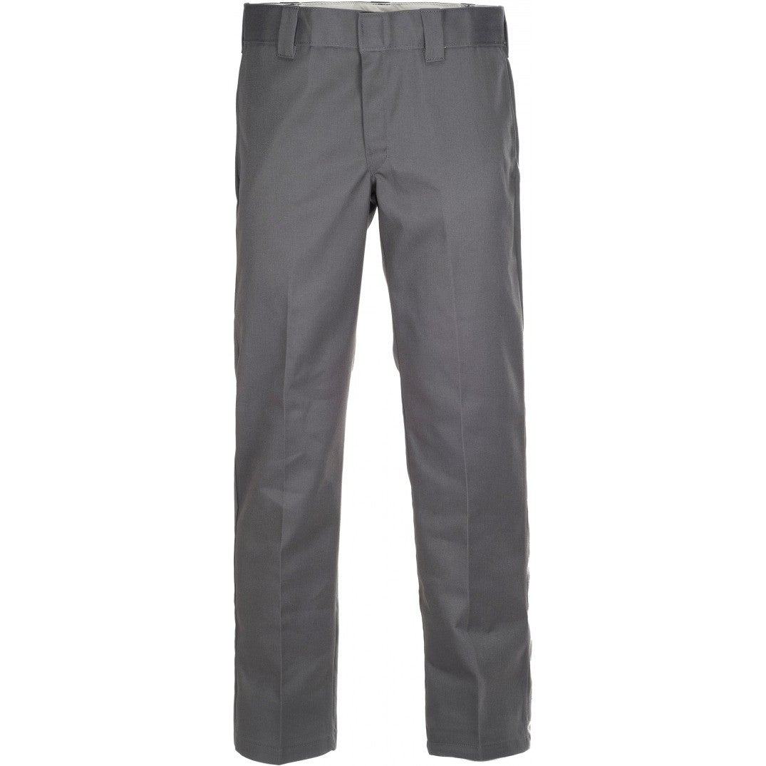 Dickies 873 Slim Straight Work Mens Pants Chino Charcoal Grey All Sizes