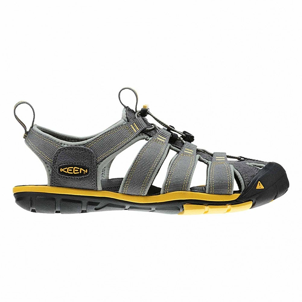 405ea70ff625 Keen Clearwater Cnx Mens Footwear Sandals - Gargoyle Super Lemon All ...