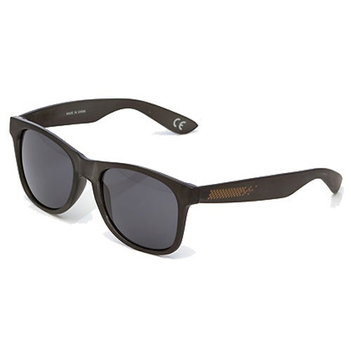 9400b16cac6 Vans Spicoli 4 Mens Sunglasses - Black Frosted Translucent One Size ...