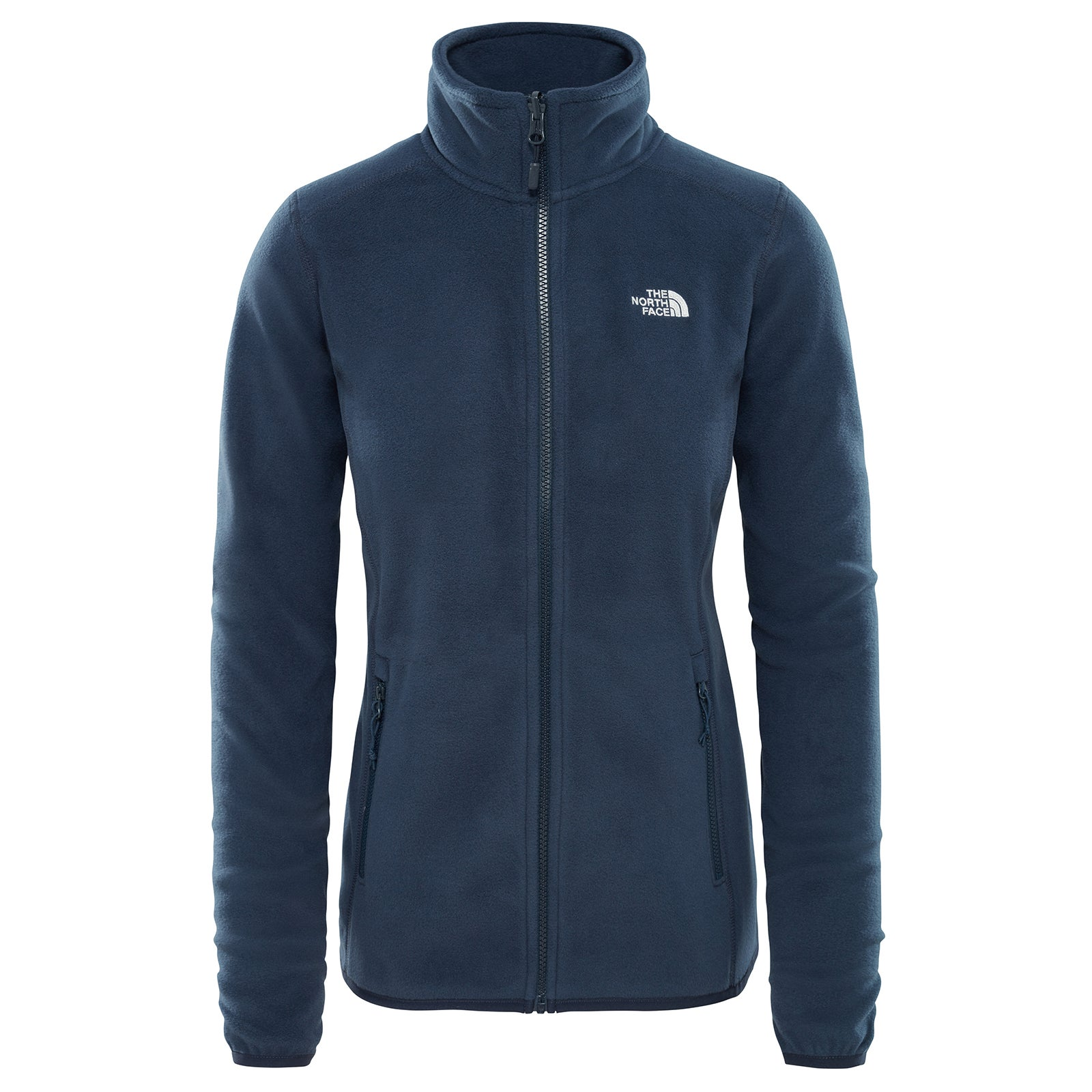 The North Face 100 Glacier Full Zip Mens Jacket Fleece Urban Navy All Sizes