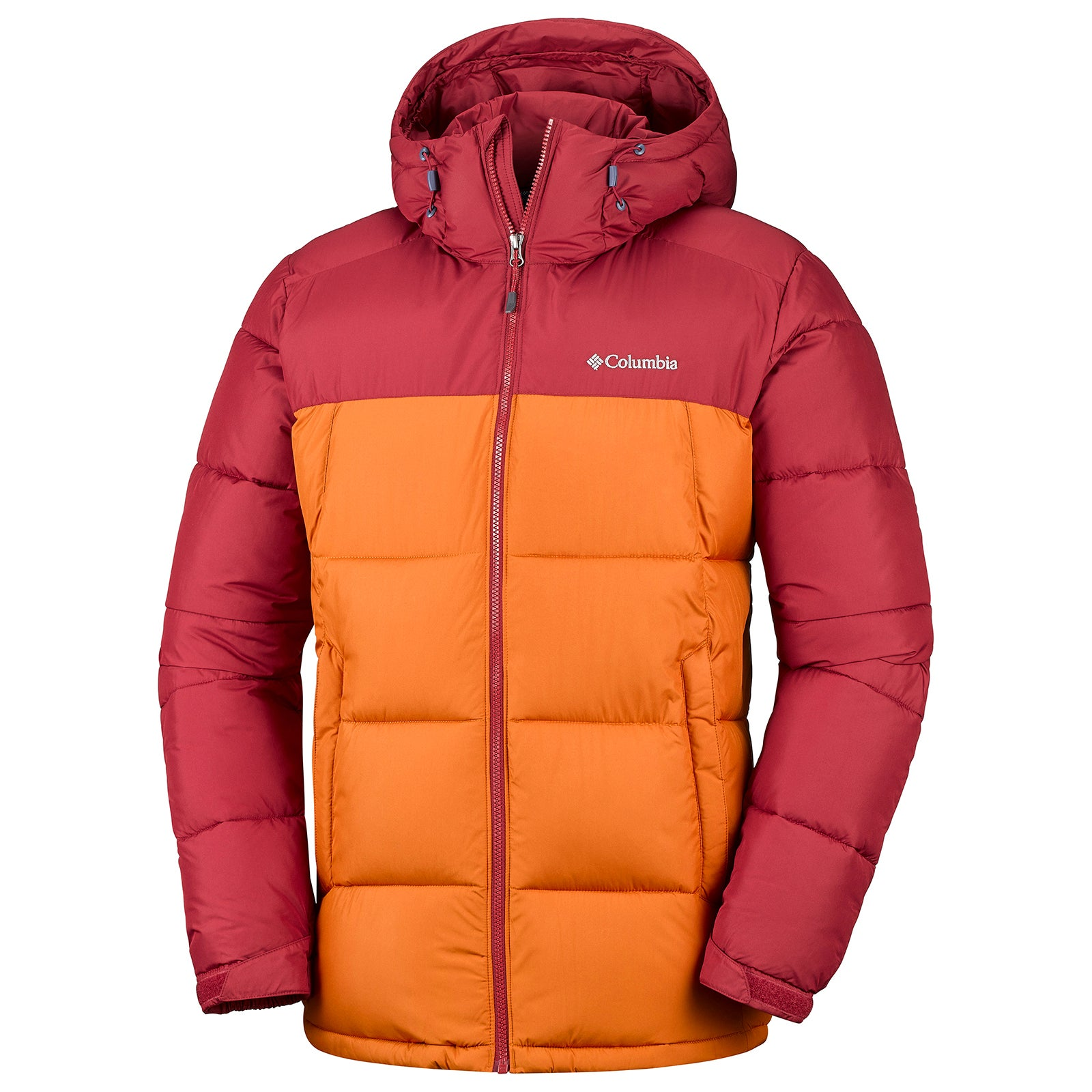 15825832d30b Columbia Pike Lake Hooded Mens Jacket Synthetic Fill - Red Element ...