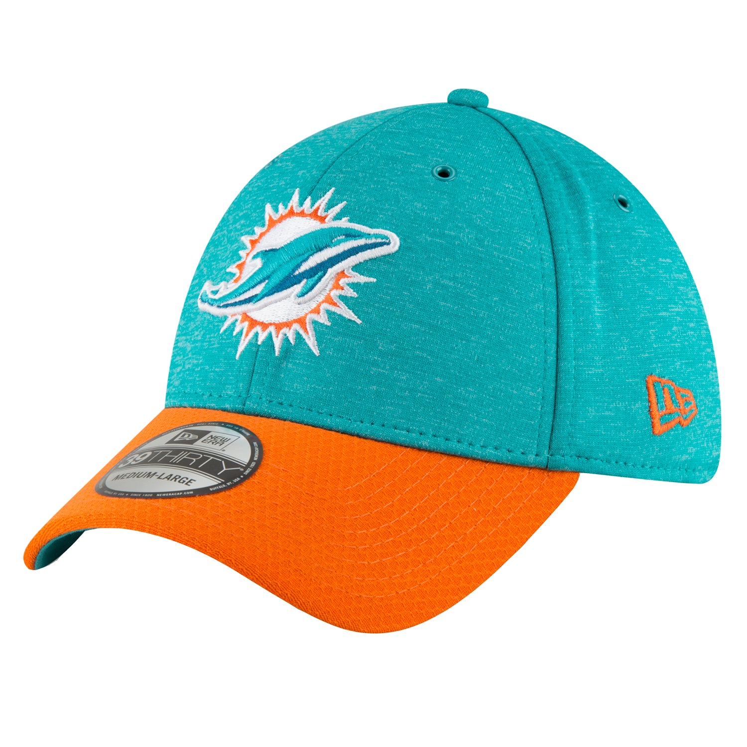 cc81a9ce Details about New Era Onf18 39thirty Sl Hm Otc Headwear Cap - Miami  Dolphins All Sizes