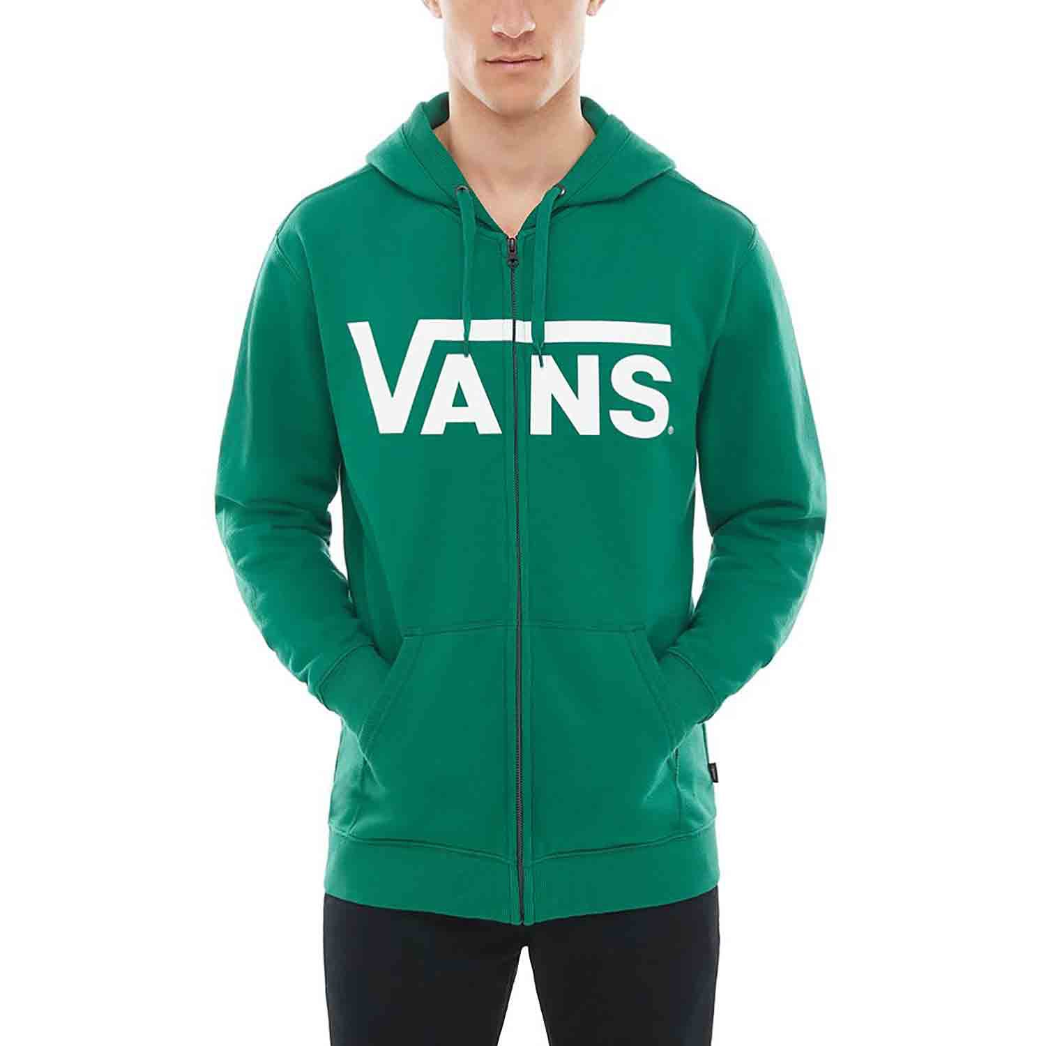 e560b1762c Vans Classic Mens Hoody Zip - Evergreen All Sizes