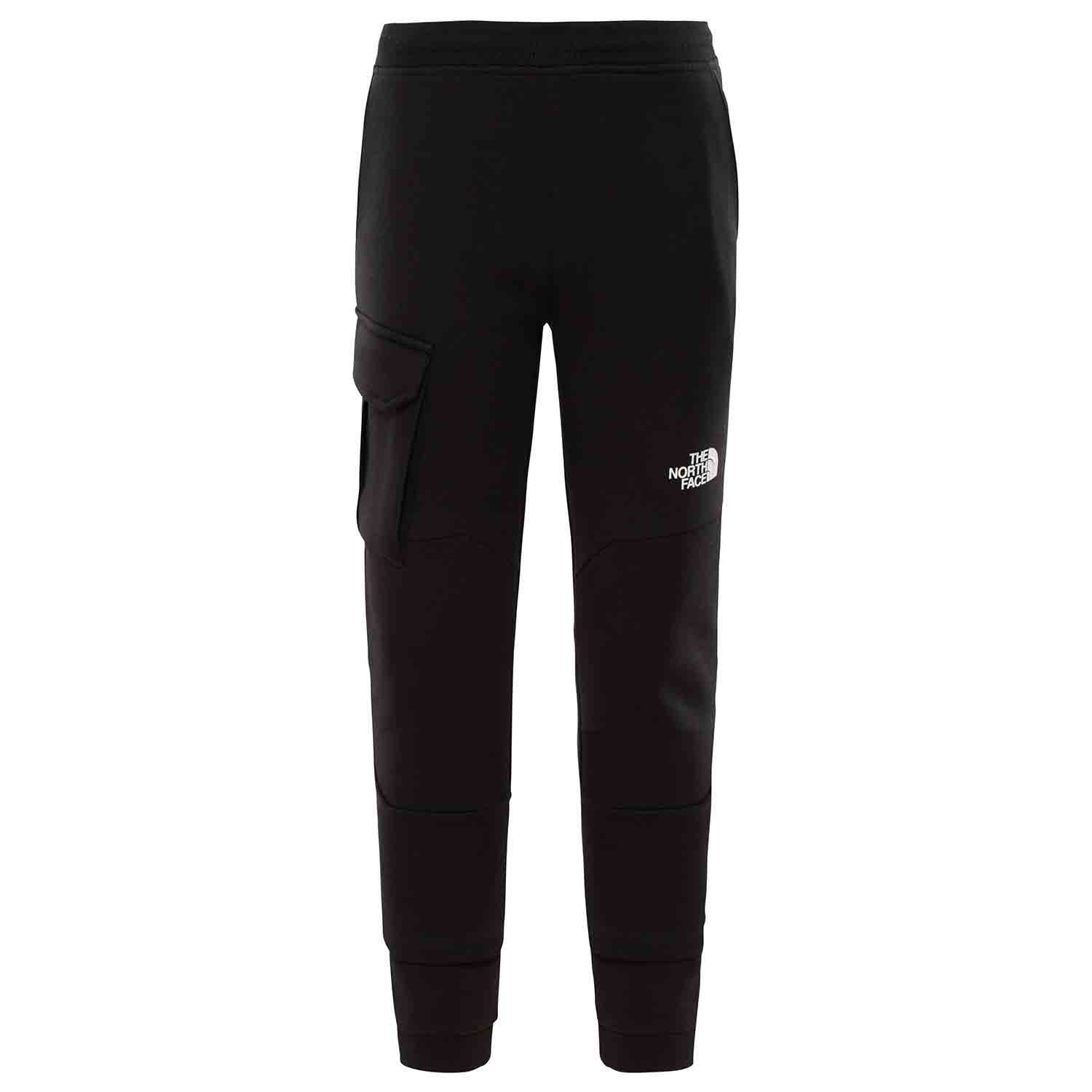 0a39836ae Details about The North Face Drew Peak Po Kids Pants Jogging - Tnf Black  White All Sizes