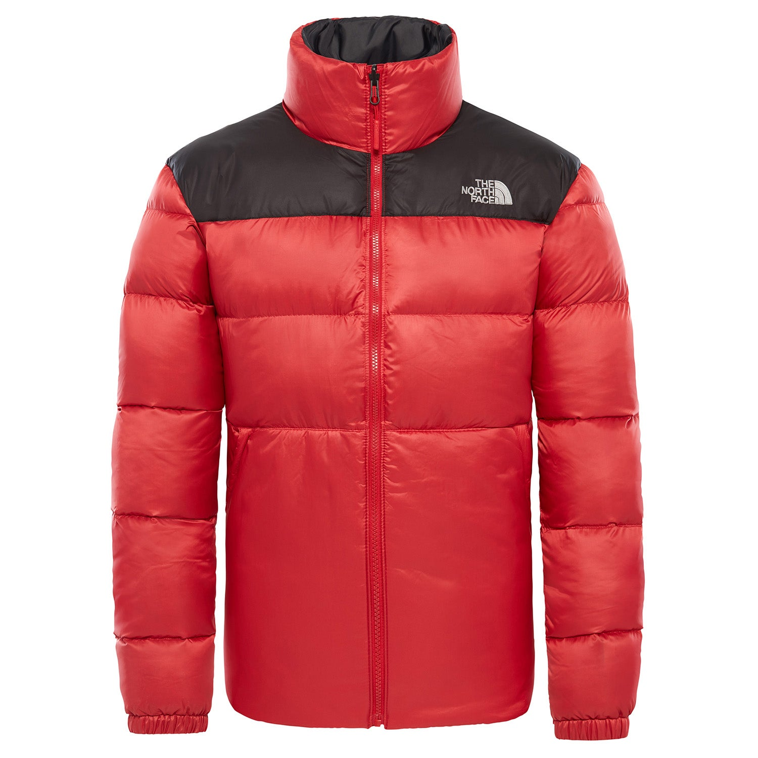 20dd9b7ee4b The North Face Nuptse Iii Mens Jacket Down - Rage Red Tnf Black All ...