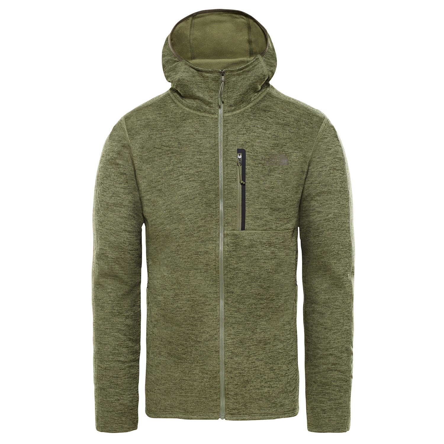 The North Face M Cynlnds Hdie Mens Hoody Zip - Four Leaf Clover ... 396247118