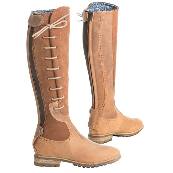 2912a1b31ea Country Boots - Long Leather & Zipper Boots from Ride-away