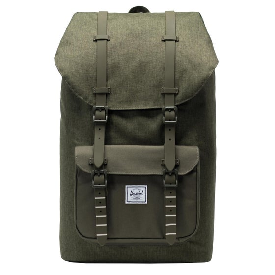 3a0251e1dac Herschel Supply Co. Herschel Little America Rugzak - Olive Night Crosshatch