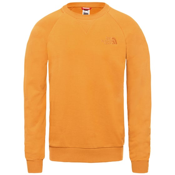 cda54ae2fc Sweater North Face Raglan Si De Crew - Citrine Yellow