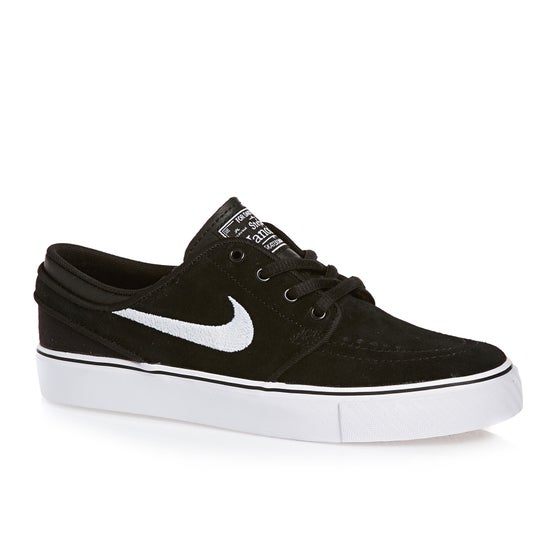 timeless design 20a9f 2e3b6 Nike SB. Nike SB Stefan Janoski Boys Shoes - Black White Gum
