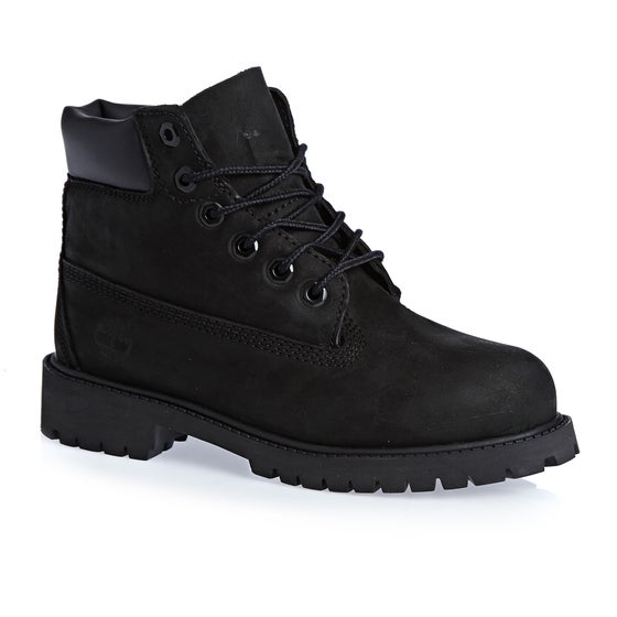 52a0ff7d Botas de andar Boys Timberland Youth 6 In Classic - Black Nubuck
