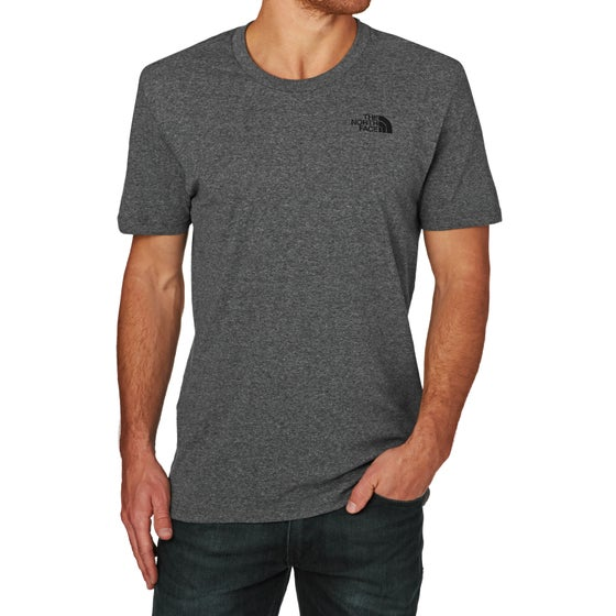 c69564c0 North Face Simple Dome Short Sleeve T-Shirt - TNF Medium Grey Heather