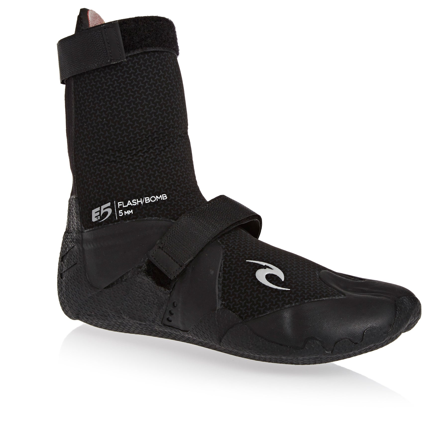 d75305780 Quiksilver Mens 5Mm Syncro Surfing Booties Round Toe Surf Boots Surf Boots  Black 13