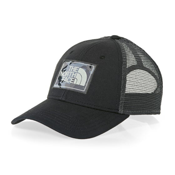 9d5fe42dcbb14 North Face Mudder Trucker Cap - TNF Black Asphalt Grey Camo