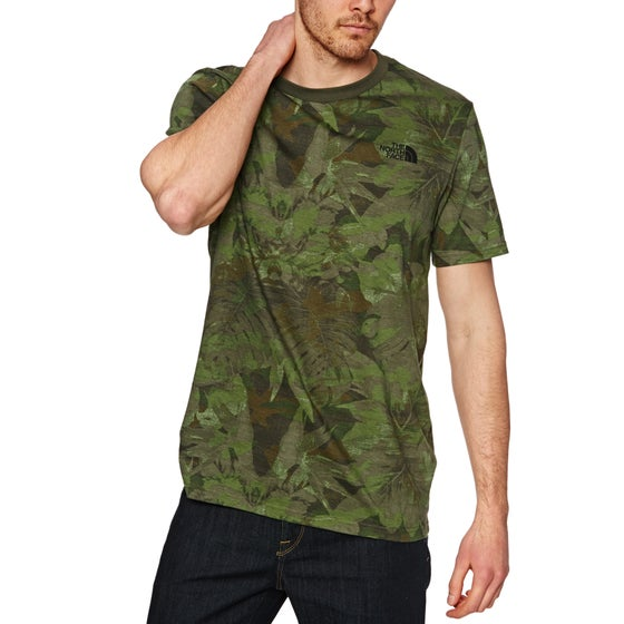 a8933a87d The North Face. North Face Simple Dome Short Sleeve T-Shirt - English Green  Camo