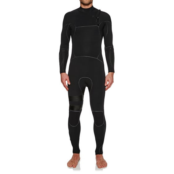 73b440c2c15f Hurley. Hurley Advantage Max 3/2mm 2019 Chest Zip Wetsuit - Black