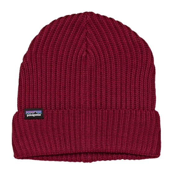 33707e4049e20 Patagonia Fishermans Rolled Beanie - Oxide Red
