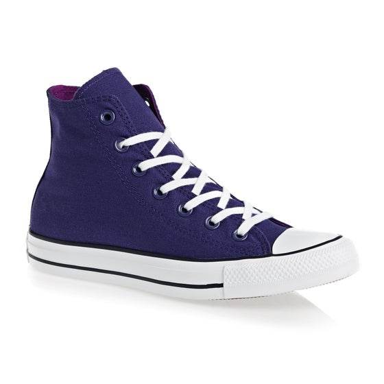 b242f818cbca1 Chaussures Converse Chuck Taylor All Stars Hi - New Orchid Icon Violet