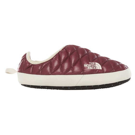 68448f7575 Chaussons Femme North Face Thermoball Tent Mule IV - Shiny Fig Vintage White