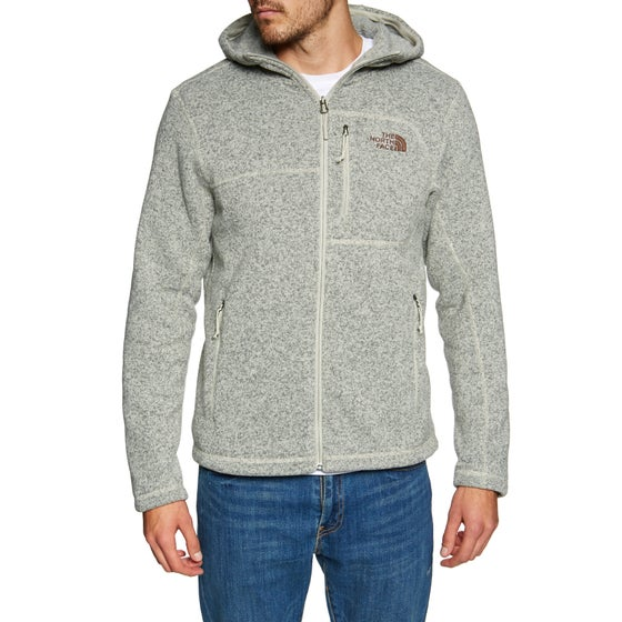 a69f4c75f2 Sweat à Capuche avec Fermeture Éclair North Face Gordon Lyons - Granite  Bluff Tan Heather