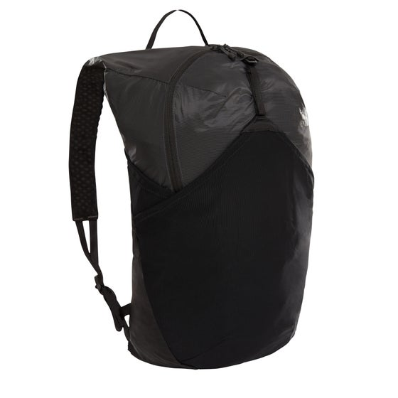 636c98f4cec39 The North Face. North Face Flyweight Backpack - Asphalt Grey TNF Black