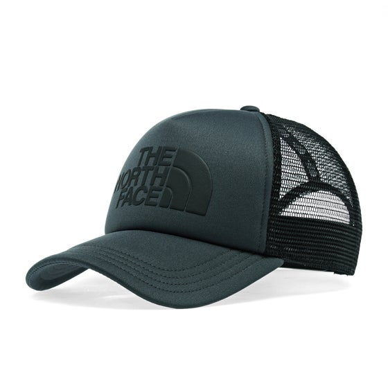 9f8eca0354b4c North Face Tnf Logo Trucker Cap - Asphalt Grey TNF Black