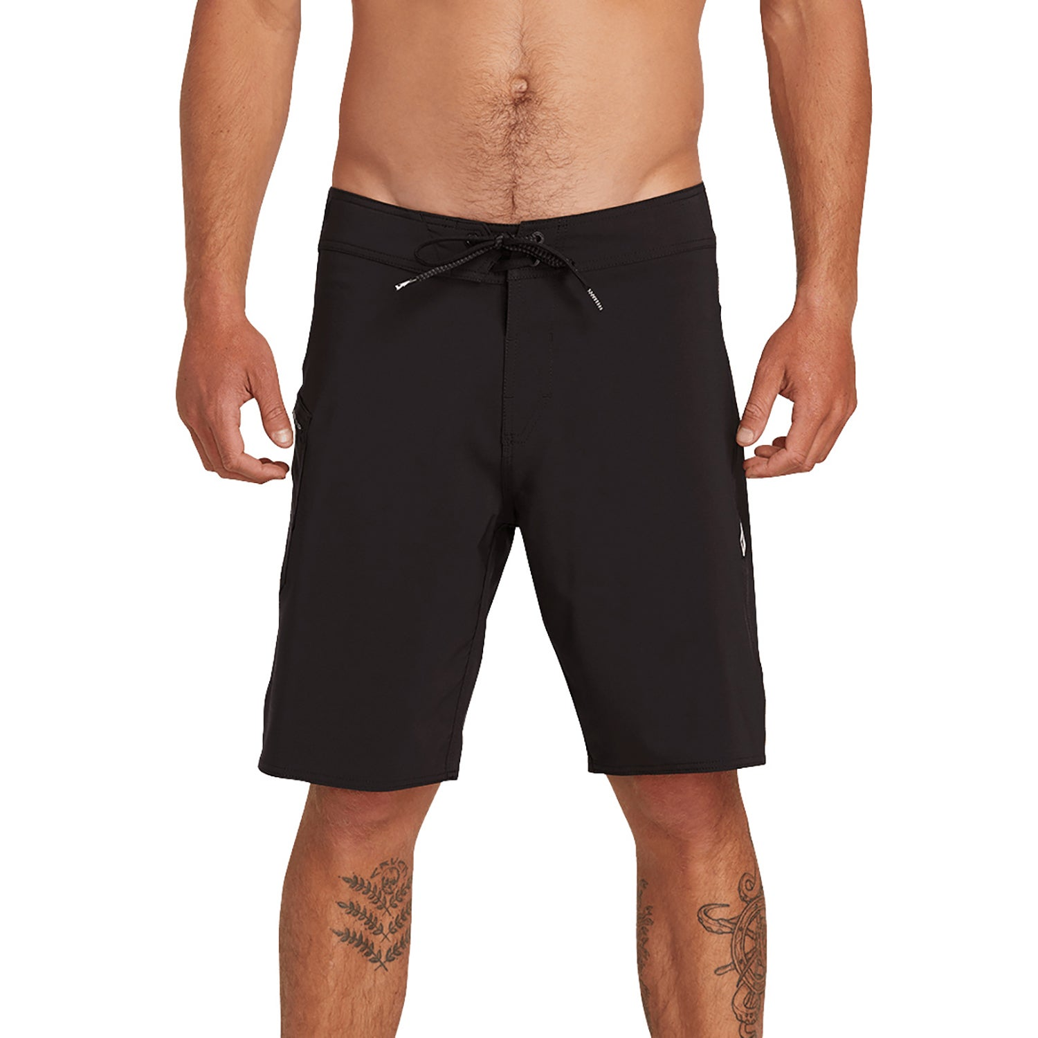 f6ceef2784 Volcom Lido Solid Mod 20 Inch Mens Shorts Boardshorts - Black All ...