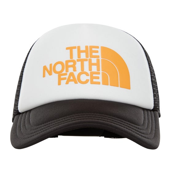 0f54af3ca122c North Face Tnf Logo Trucker Cap - TNF Zinnia Orange TNF Black