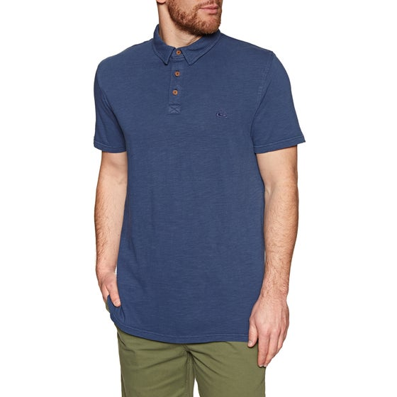 fae5231b Quiksilver. Quiksilver Everyday Sun Polo Shirt - Medieval Blue