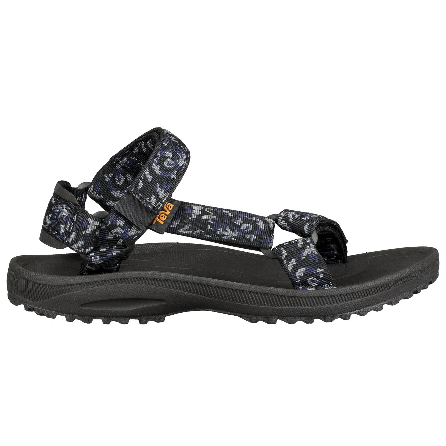486a1dde96e9 Teva Winsted Mens Footwear Sandals - Bramble Black All Sizes