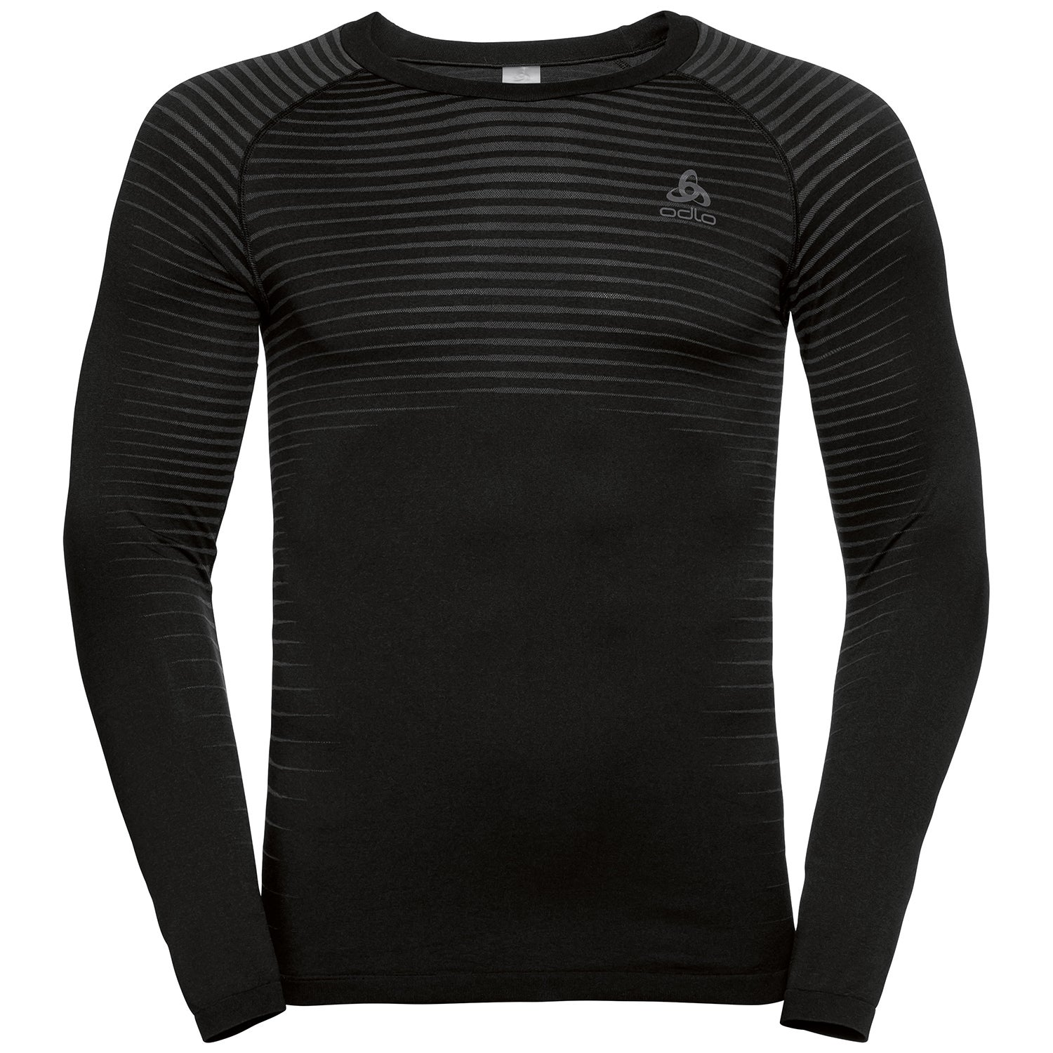 Odlo Mens BL Ceramicool Pro Long Sleeve Crew Neck Top