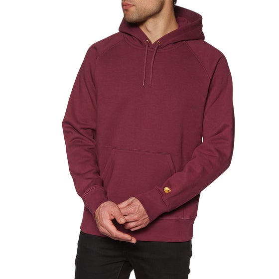 f87c9abe43054 Carhartt Chase Pullover Hoody - Cranberry