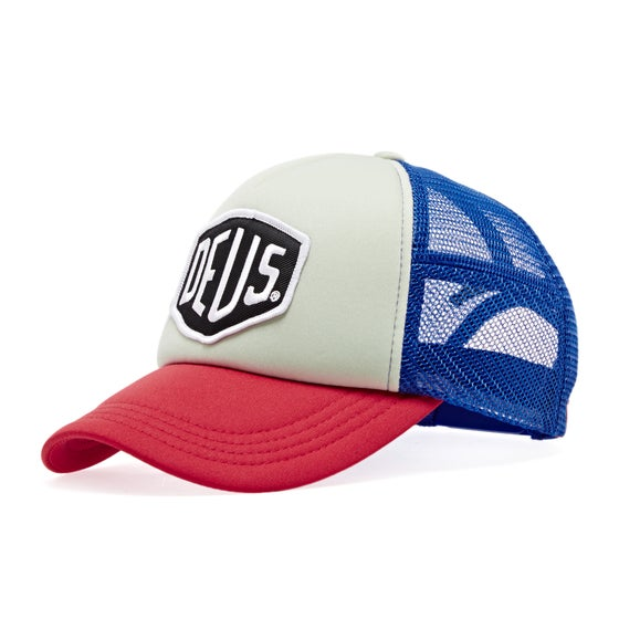 dfd5ace164843 Deus Ex Machina. Deus Ex Machina Baylands Trucker Cap - Blue Red