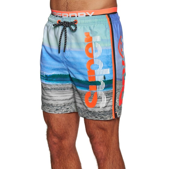 13a0f2aab5 Superdry. Superdry Photographic Volley Swim Shorts - Superdry Surf