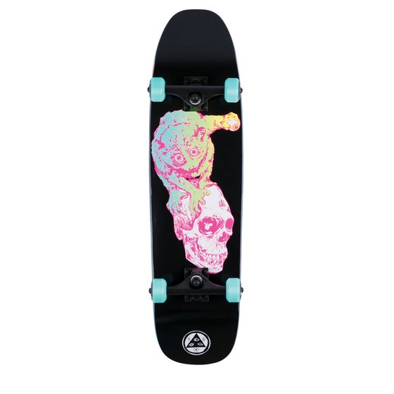 cc03b16f Welcome. Welcome Loris Loughlin On Scaled-down Nimbus 3000 8.25 Inch  Complete Skateboard - Black Pink