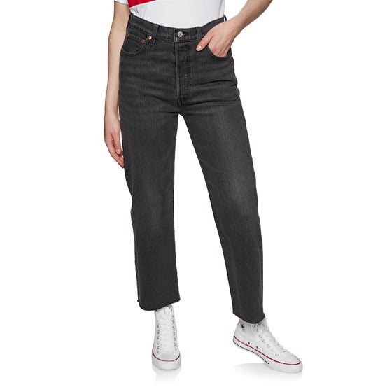 7d843388 Levis. Levis Ribcage Dame Jeans - You Only Live Once
