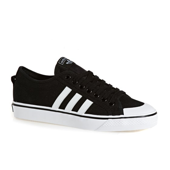 e433fe4f Adidas Originals. Обувь Adidas Originals Nizza - Black White