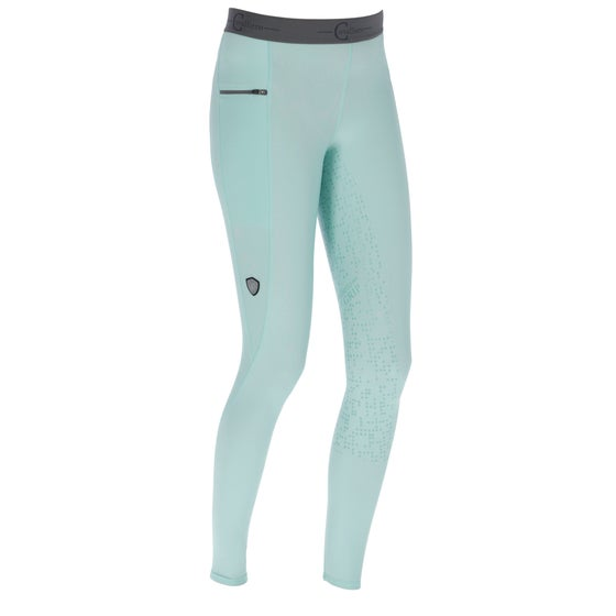 a7daf2b6d8 Covalliero Jaria Ladies Riding Tights - Turquoise
