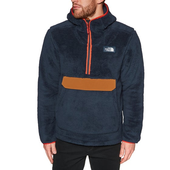 d66f9f50c0 Polaire North Face Campshire Pullover Hooded - Urban Navy Caramel Cafe