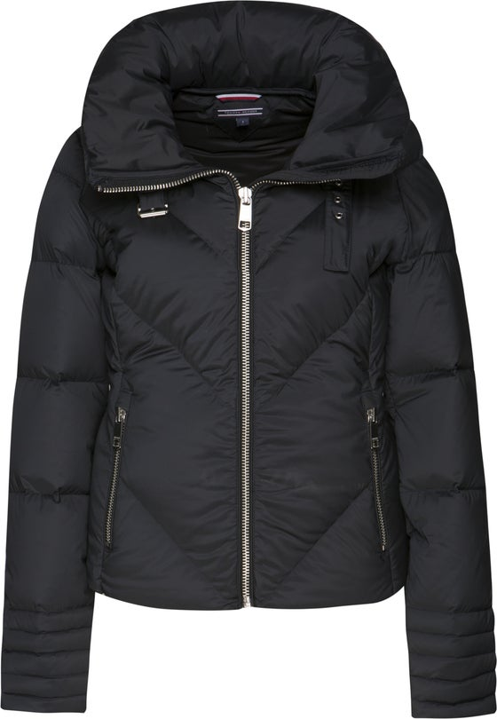 9eccbcee Tommy Hilfiger April Fitted Women's Down Jacket - Black Beauty