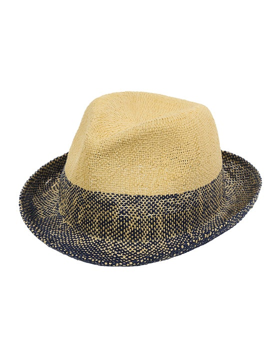 9fc2a26622e3e Paul Smith Two Tone Trilby Hat - Navy