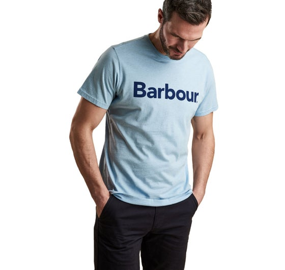 e32c33a4de84d Barbour Ardfern Short Sleeve T-Shirt - Ocean Blue