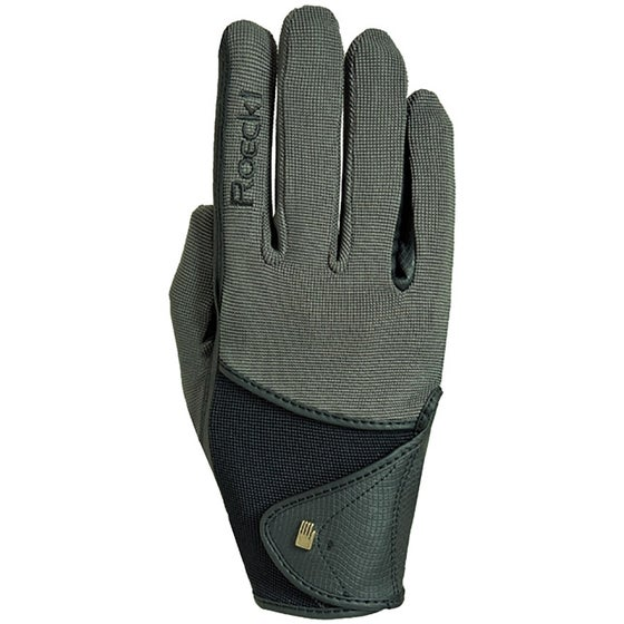 72134c4a6 Roeckl Madison Ladies Riding Gloves - Green Black