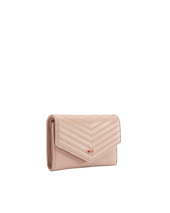 ef72e8d2 Ted Baker Nourr Quilted Envlpe Small Bifold Women's Purse - Pink
