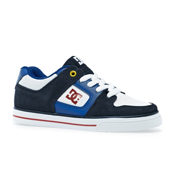 b32e11aff Calzado Boys DC Pure - Navy Red