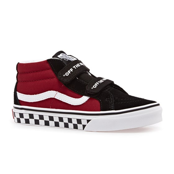 76150ef8d6 Vans. Vans SK8 Mid Reissue V Kids Shoes - Logo Pop Black True White